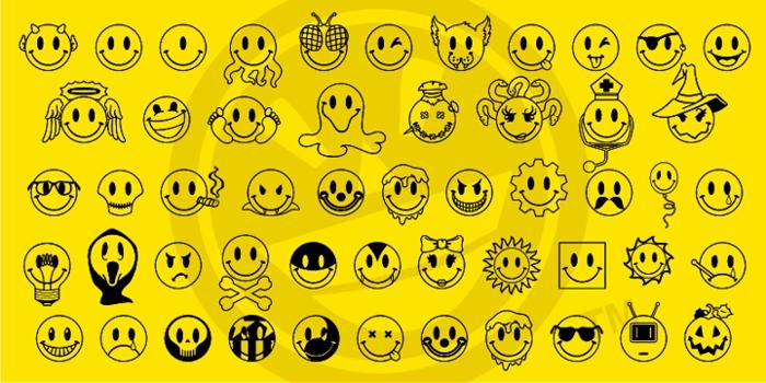 JLS Smiles Sampler Font poster