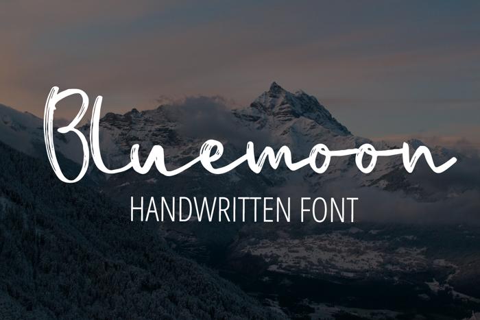 Bluemoon Font