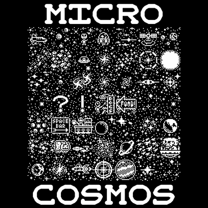 Microcosmos Font poster
