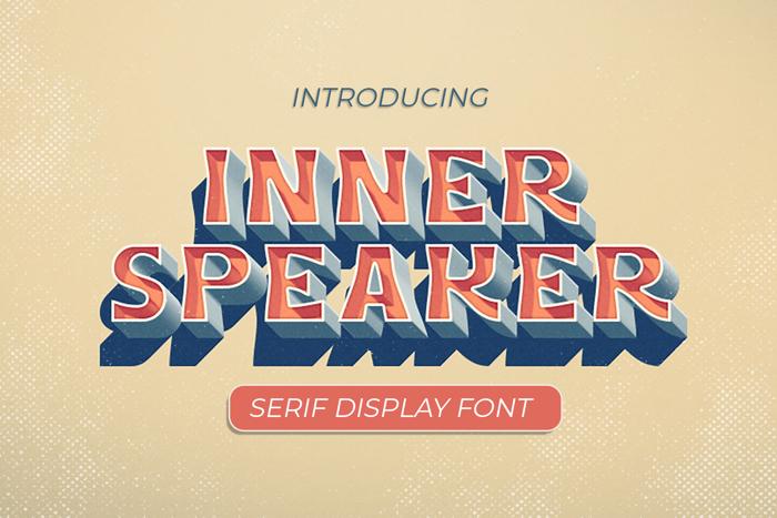 Innerspeaker Font poster