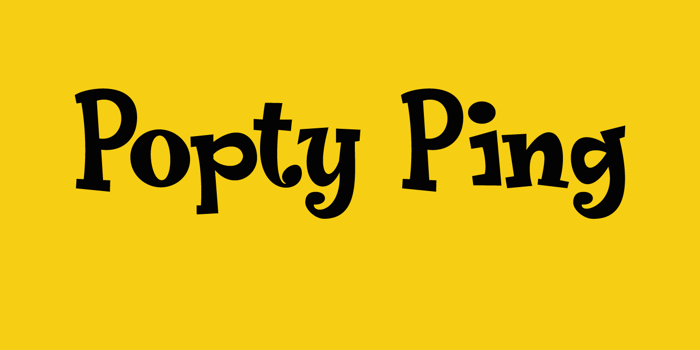 Popty Ping DEMO Font