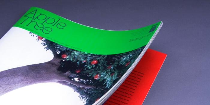 Apple Tree Font poster