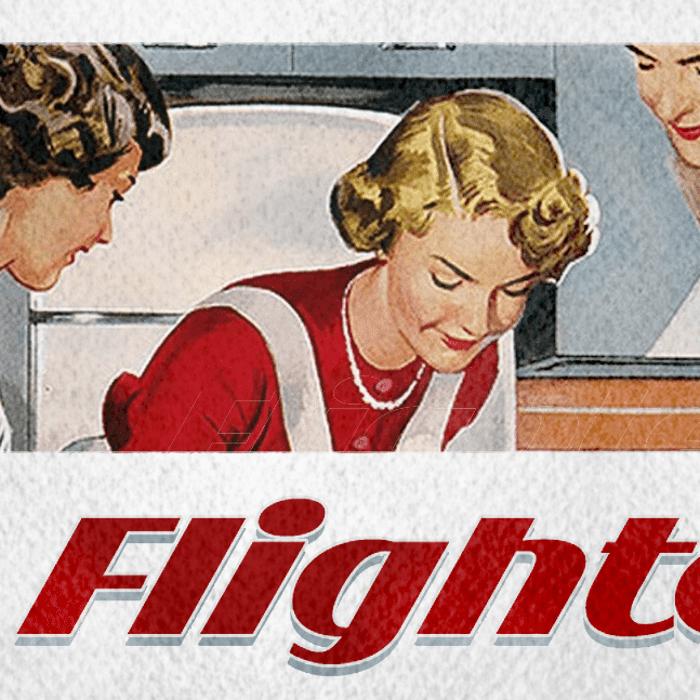 Flighter Font poster