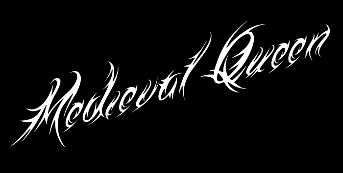 Medieval Queen Font poster