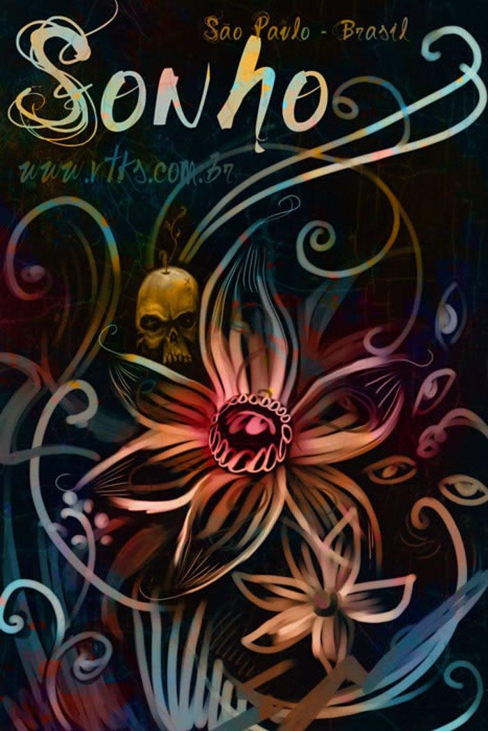 Vtks Sonho Font poster