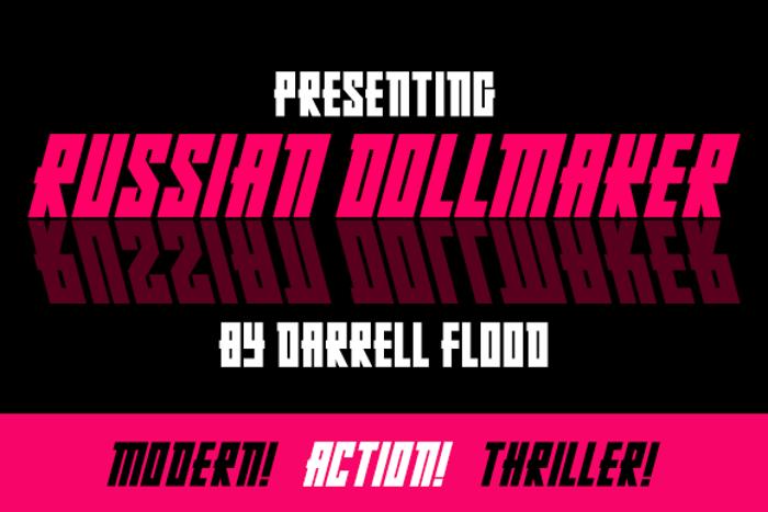 Russian Dollmaker Font poster