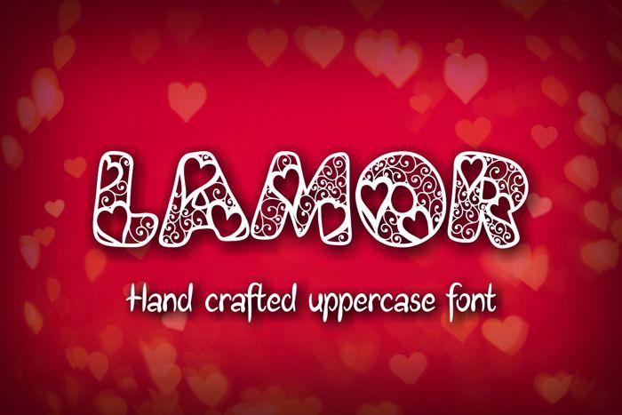 Lamor Demo Font poster