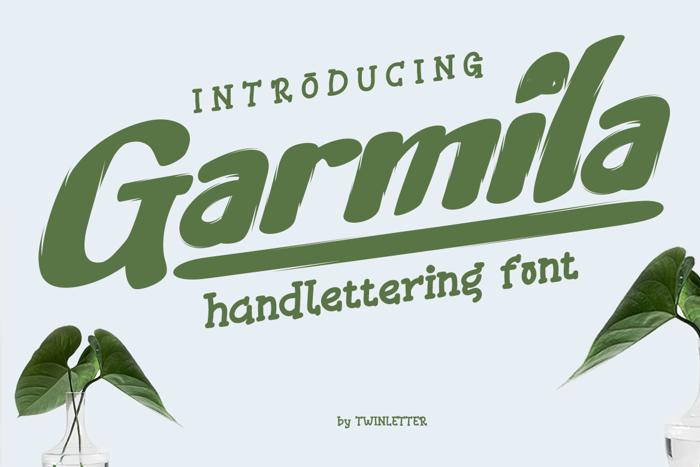Garmila Font poster