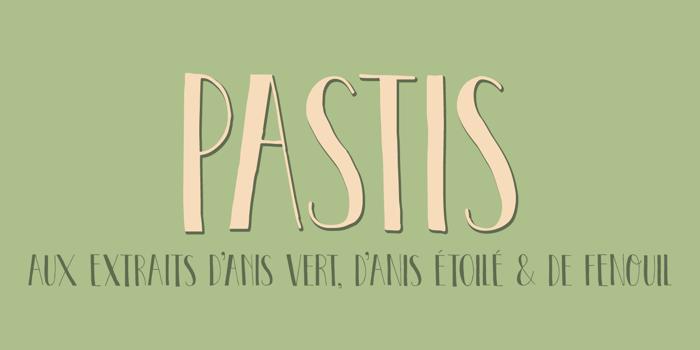DK Pastis Font poster