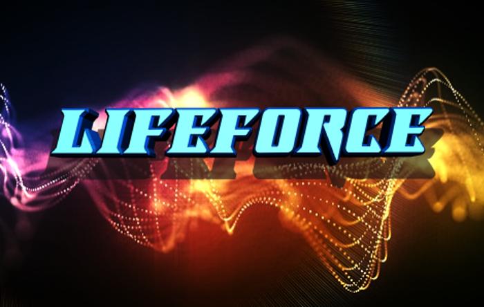 Lifeforce Font poster