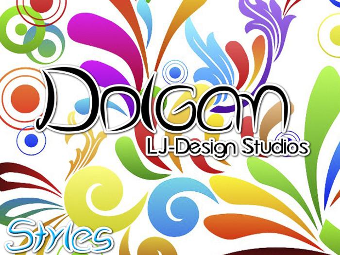 Dolgan - LJ-Design Studios Font poster