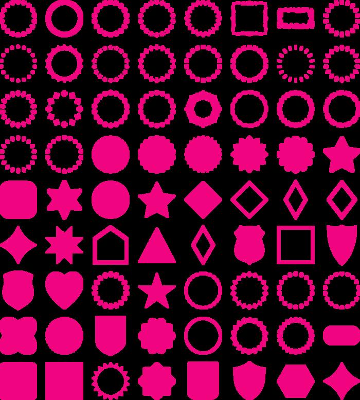 frames Font poster