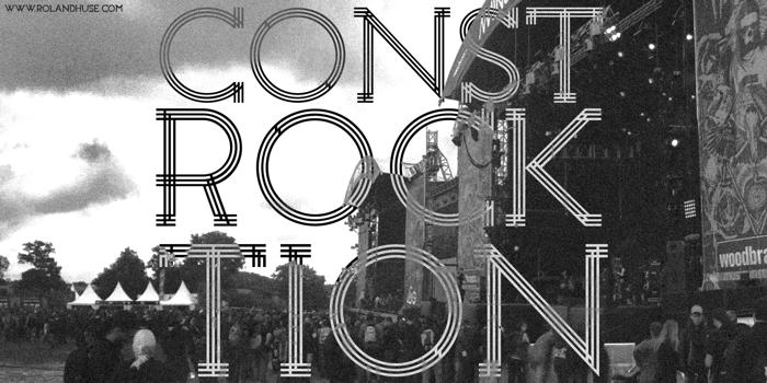 Constrocktion Font poster