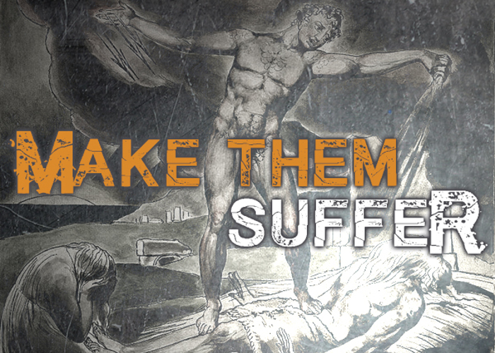 Make them SuffeR Font