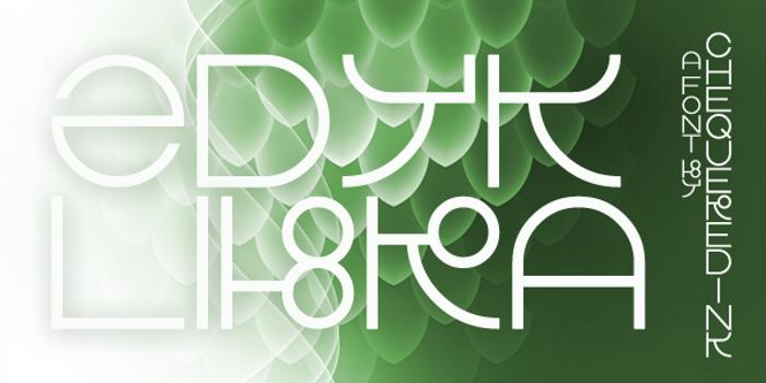 Zdyk Libra Font poster