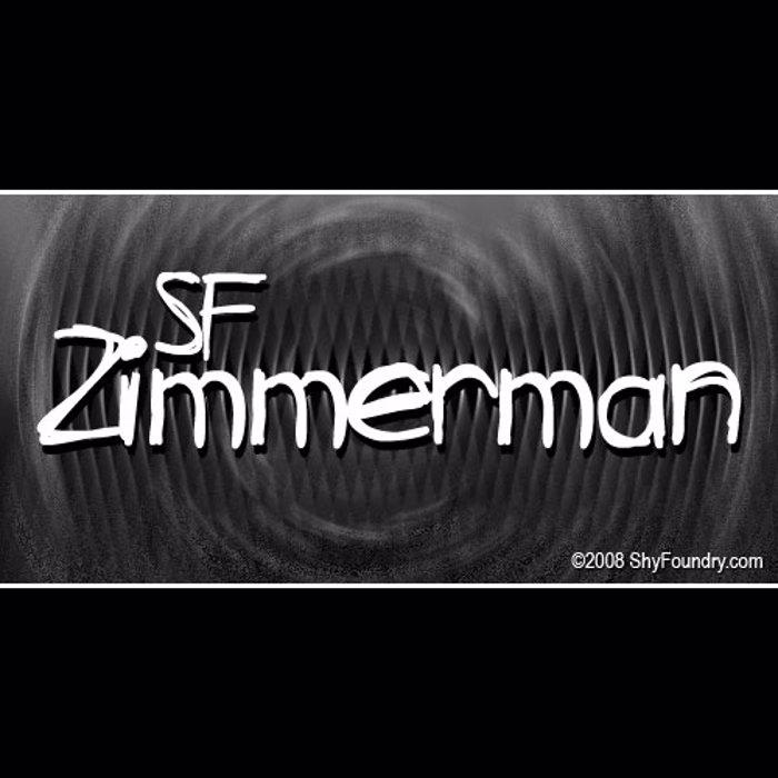 SF Zimmerman Font poster