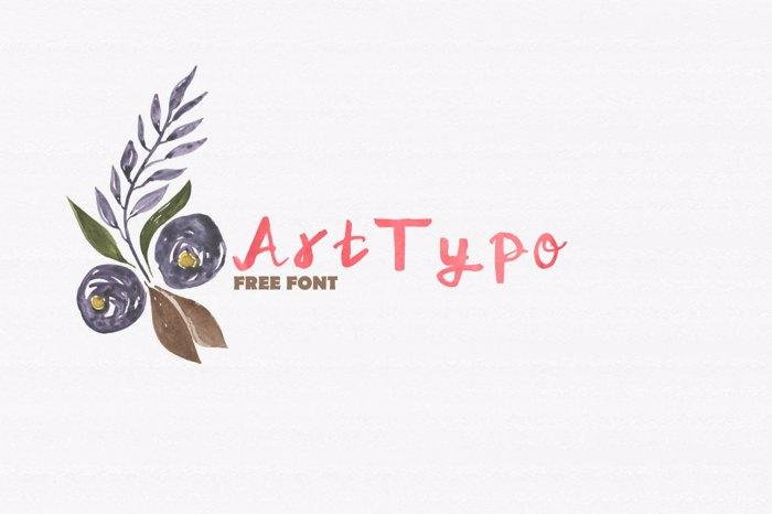 ArtTypo_Symufa Font poster