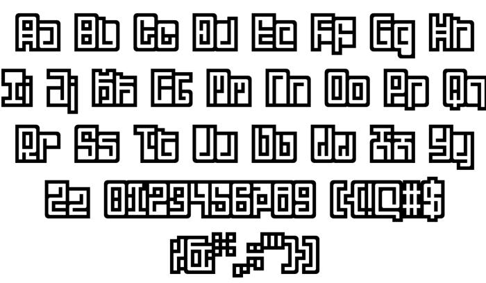 Lunais 2 Font poster