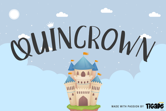 Quincrown Font poster