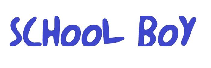 schoolboy Font poster
