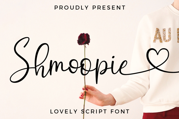 Shmoopie Font poster