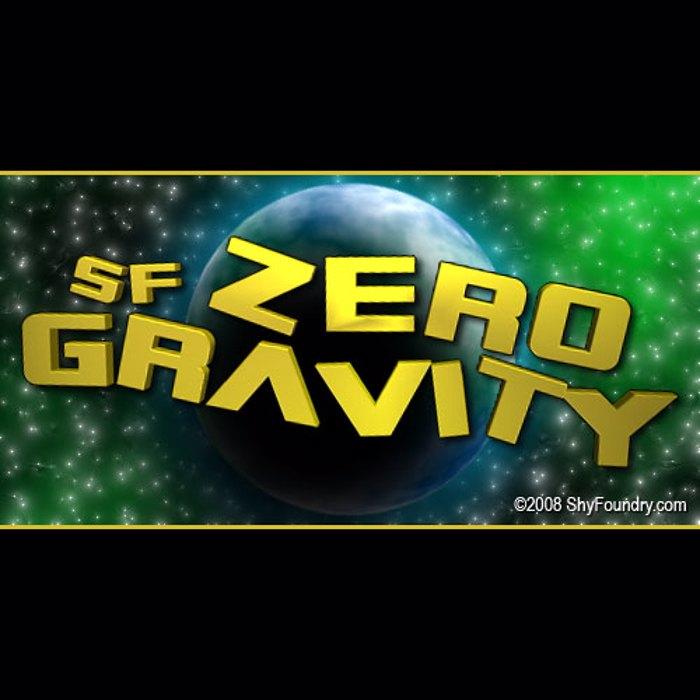 SF Zero Gravity Font poster