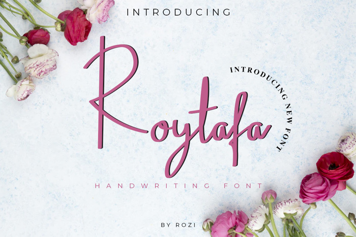 Roytafa Font