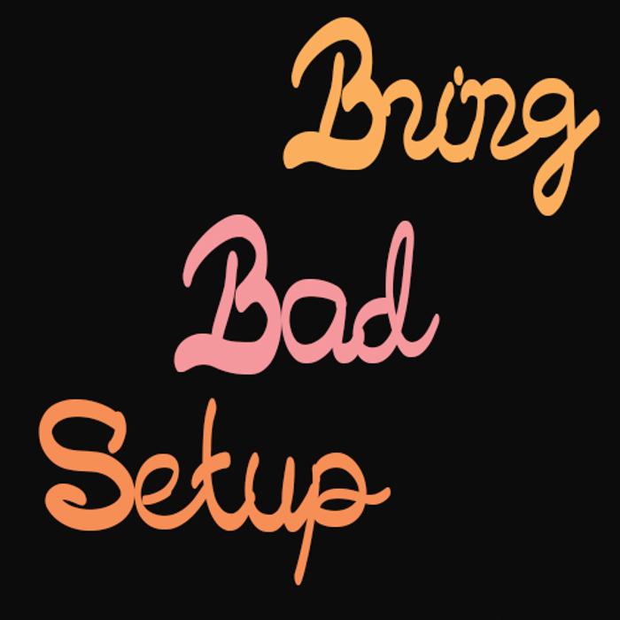 Bringbadsetup Font poster