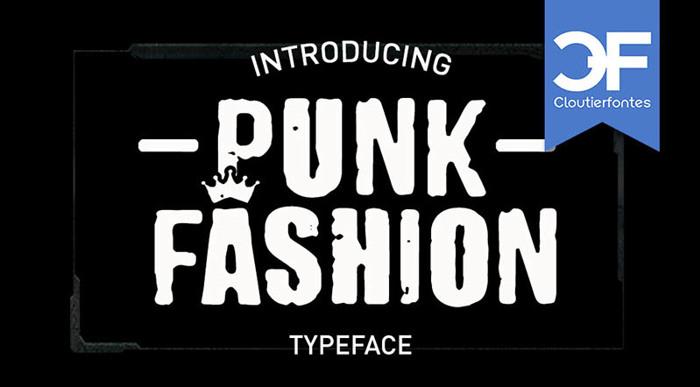 CF Punk Fashion Font poster