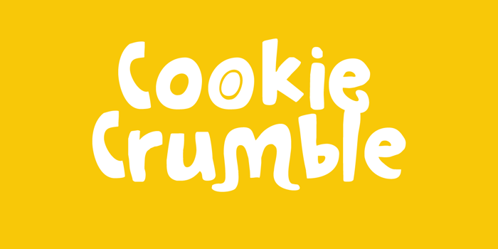 Cookie Crumble Font poster