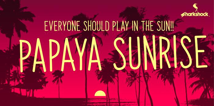 Papaya Sunrise poster