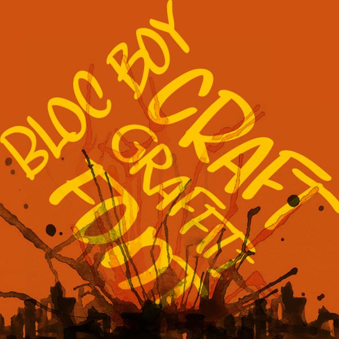 Bloc Boy Font poster
