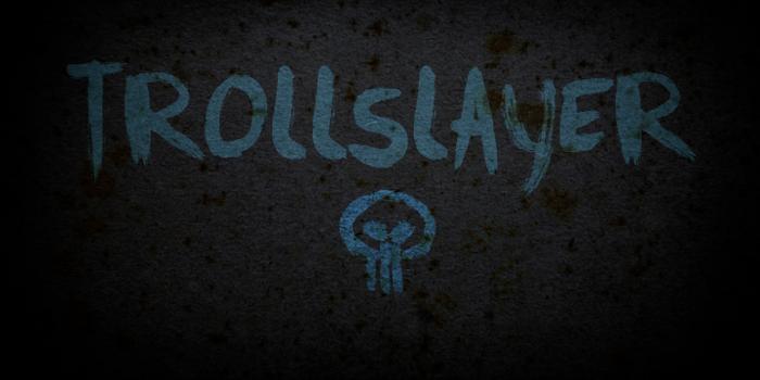 DK Trollslayer Font poster