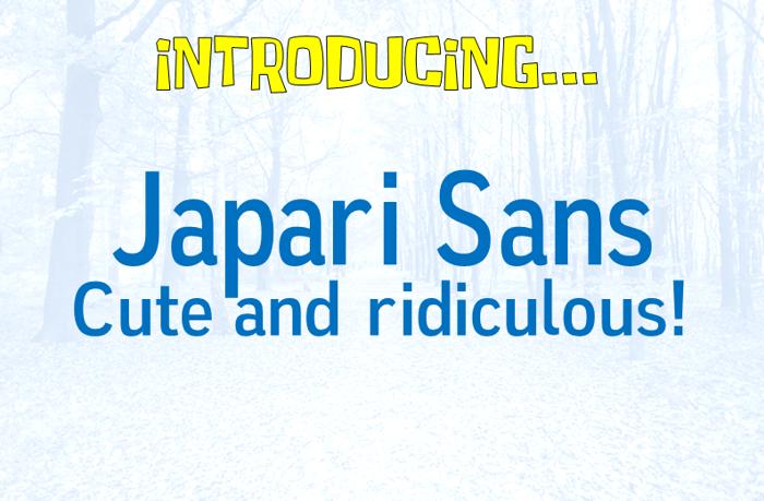 Japari Sans Font