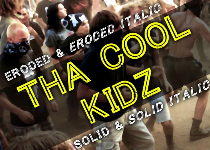 Tha Cool Kidz Font poster