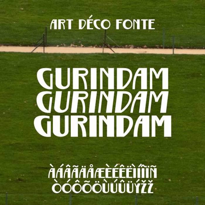 Gurindam Font poster