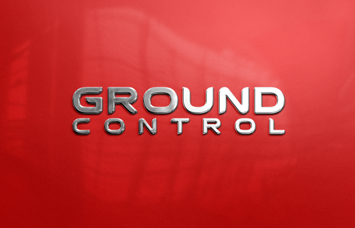 Ground Control Font poster