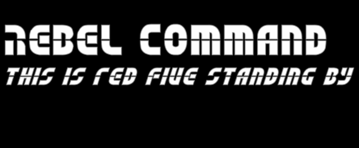 Rebel Command Font poster