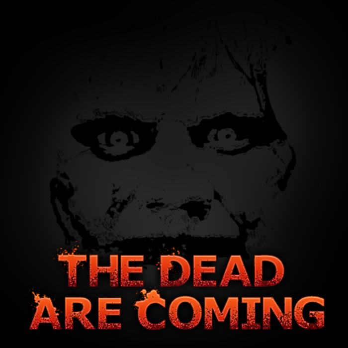 TheDeadAreComing Font poster