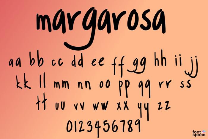 Margarosa Font poster