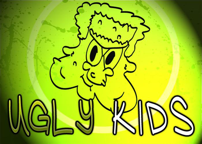 Ugly Kids Font poster