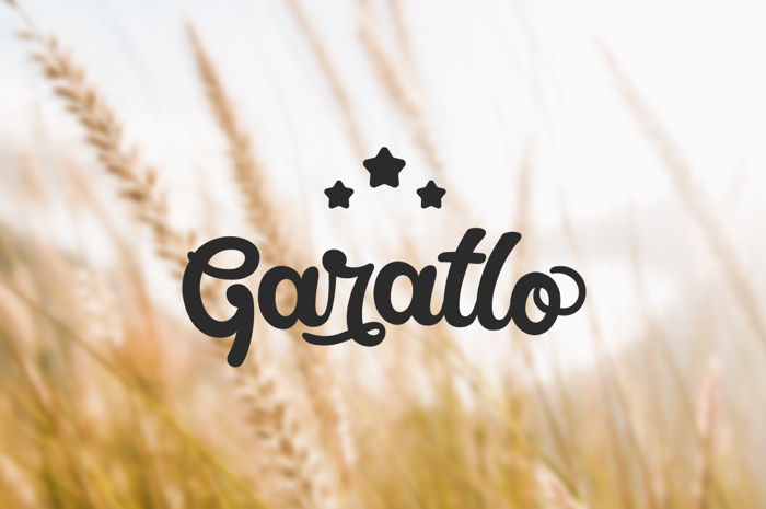 Garatlo Font poster