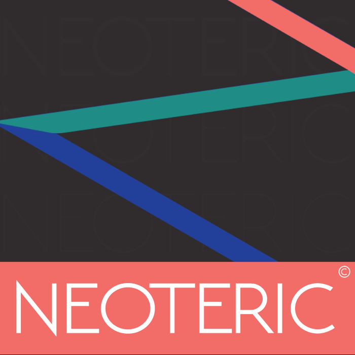 NEOTERIC Font poster