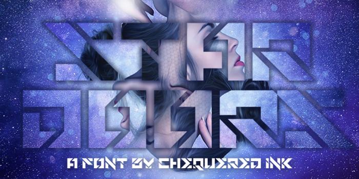 Star Doors Font poster