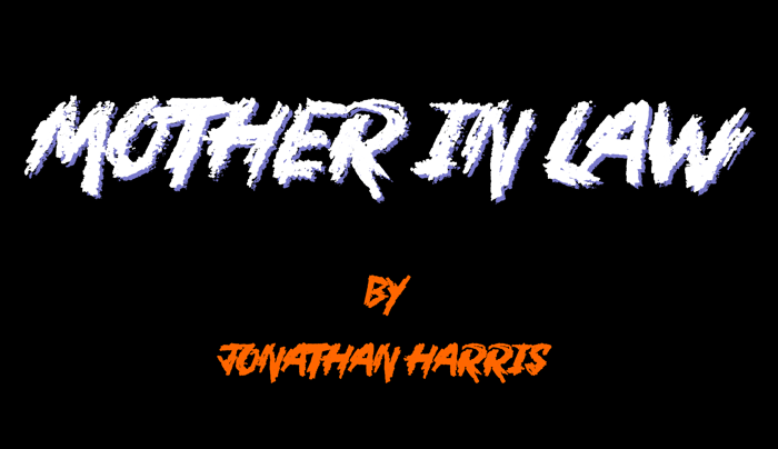 Mother In Law Font poster
