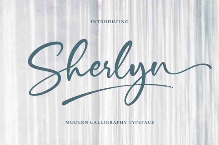 Sherlyn Font poster