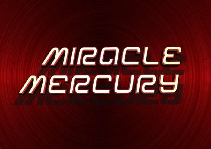 Miracle Mercury Font poster