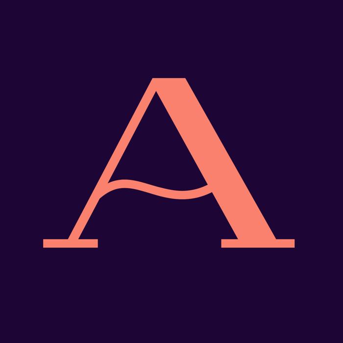 Lausanne Font poster