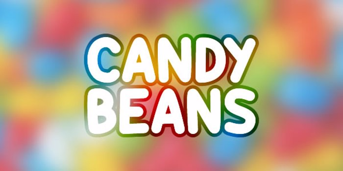 Candy Beans Font poster