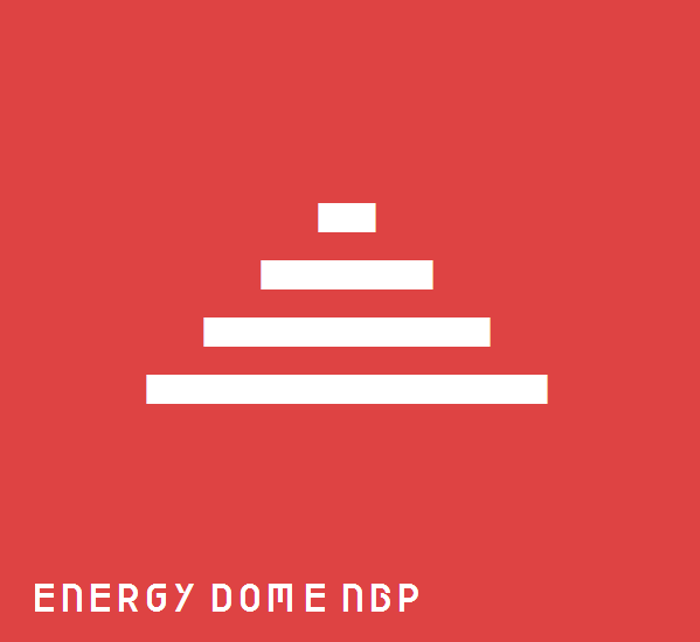 Energy Dome NBP Font poster